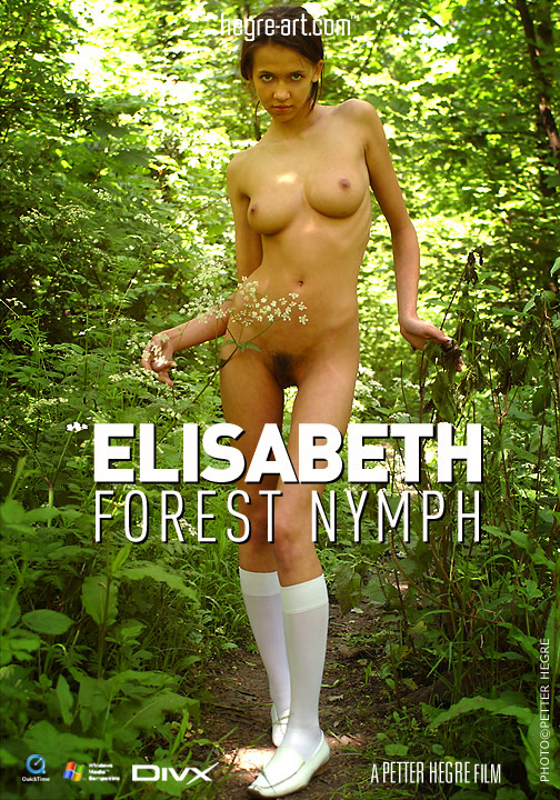 Elisabeth - `#71 - Forest Nymph` - by Petter Hegre for HEGRE-ART VIDEO